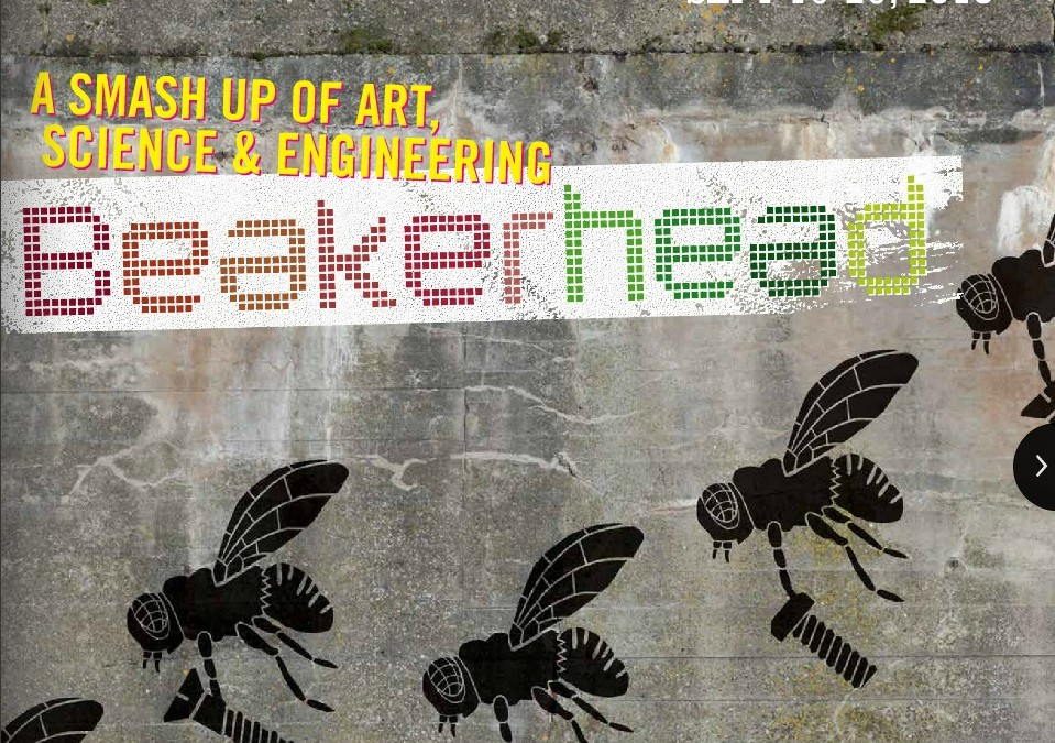 Media Release: Official kick-off for Beakerhead  takes place in the world's largest pop-up gallery