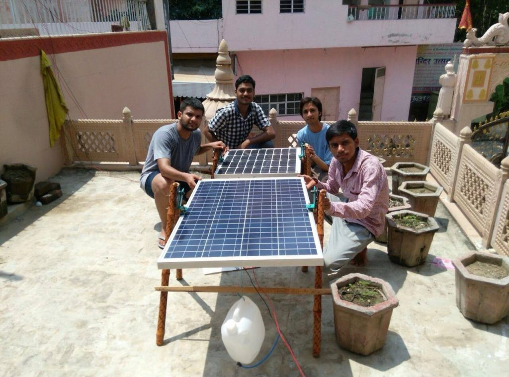 A SunSaluter project to light up rural schools in Uttar Pradesh. Source: The SunSaluter