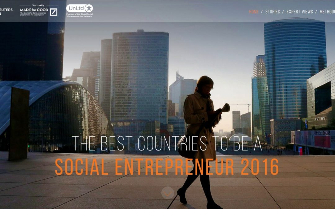 Poll Shows Canada is the 2nd Best Place to Be a Social Entrepreneur: Taking A Deeper Look