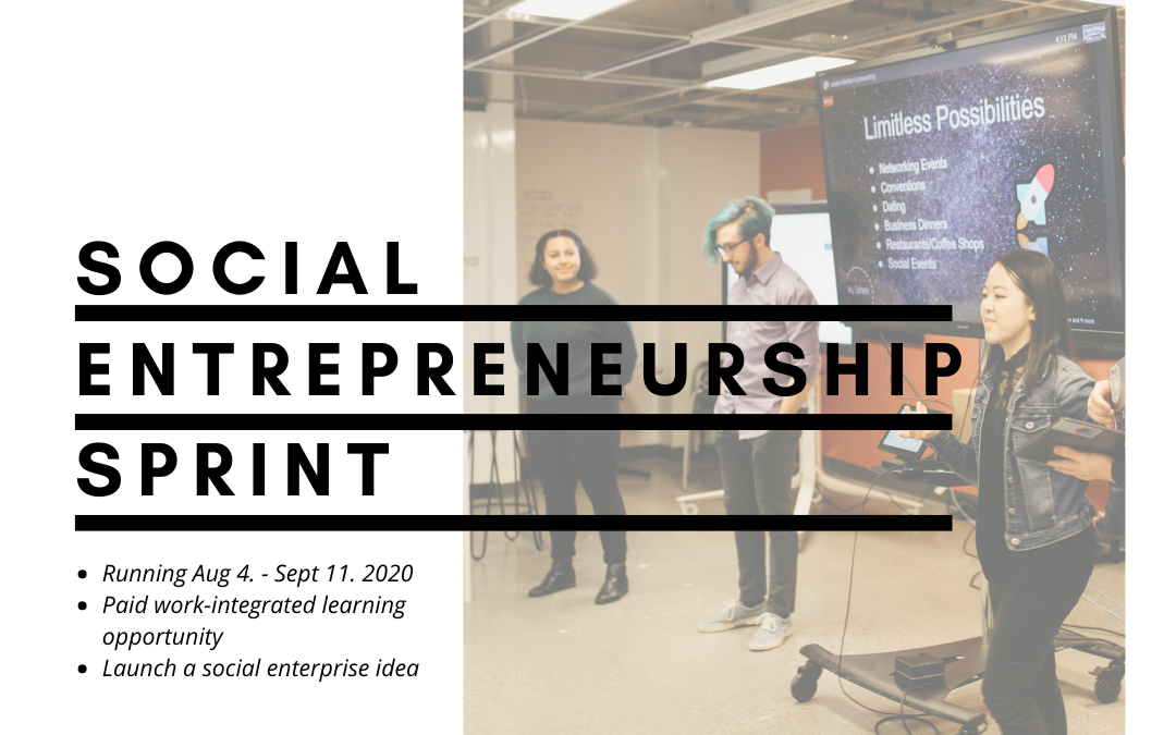 MRU Launches Social Entrepreneurship Sprint: Applications Now Open